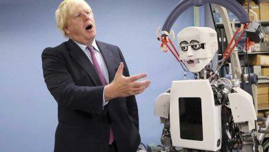 تصویر از انگلیس در حوزه رباتیک عقب مانده است!