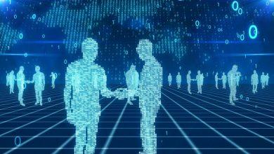 تصویر از سایه هوش مصنوعی بر گفتگوی انسان