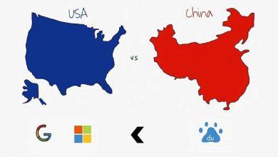 تصویر از سبقت غول چینی از گوگل و مایکروسافت