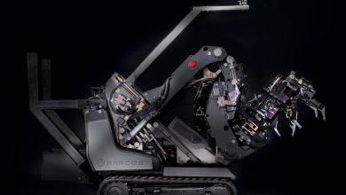 تصویر از چیزنت تی وی | رباتی با بازوان ابرانسانی