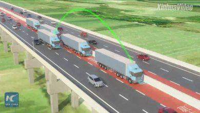 تصویر از چیزنت تیوی | بزرگراه هوشمند چین مخصوص خودروهای هوشمند