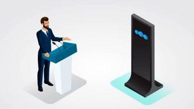 تصویر از بحث و مناظره هوش مصنوعی با انسان!